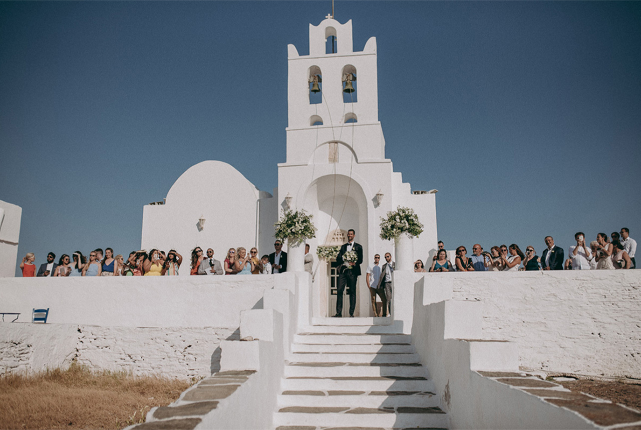 DORA AND VEL | DESTINATION WEDDING, SIFNOS ISLAND
